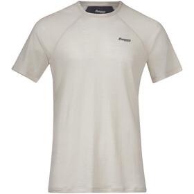 Bergans Fløyen Wool Short Sleeve Shirt Men, chalk sand